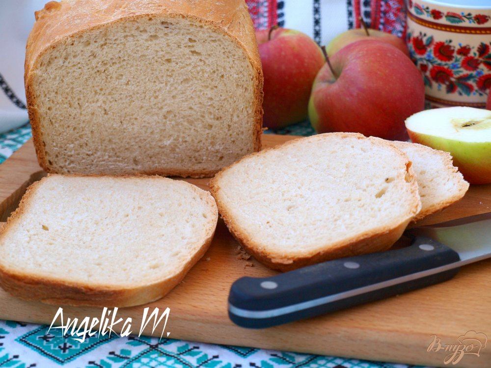 Хлеб на молоке в хлебопечке рецепт