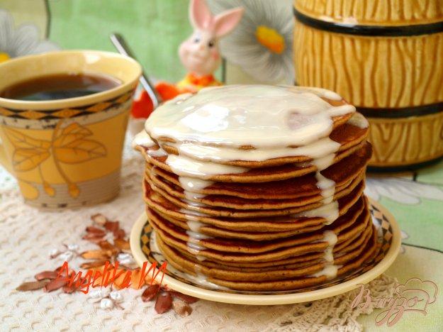 фото рецепта: Кофейно-медовые панкейки