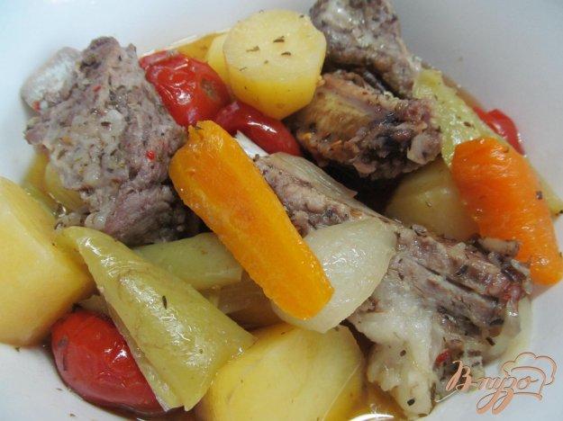 фото рецепта: Свинина с овощами в рукаве