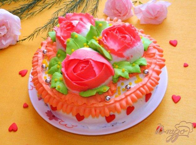 фото рецепта: Торт с ананасами