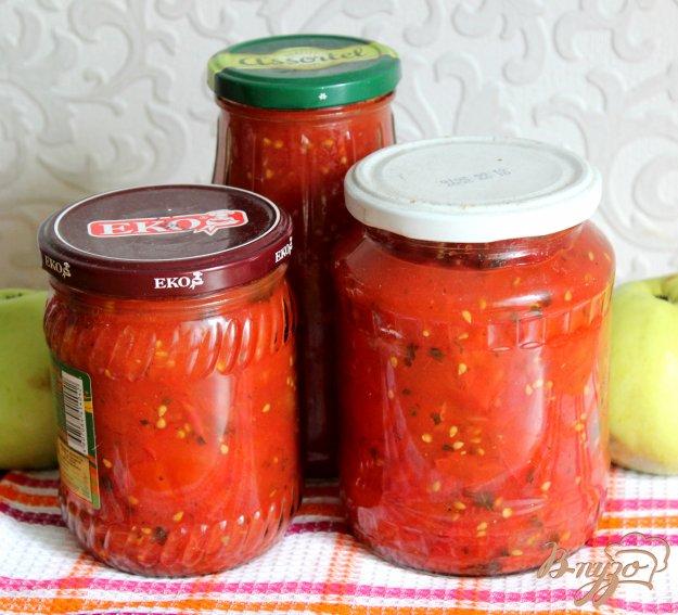 фото рецепта: Ленивая заготовка из томатов