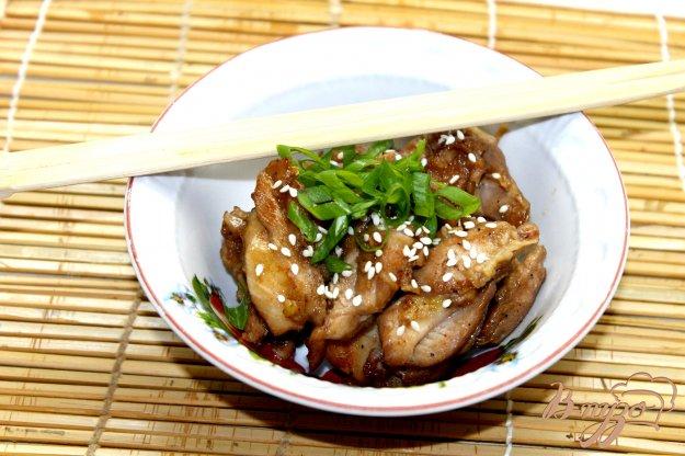 фото рецепта: Курица в японском стиле