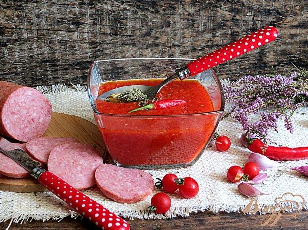 фото рецепта: Томатный соус средиземноморский