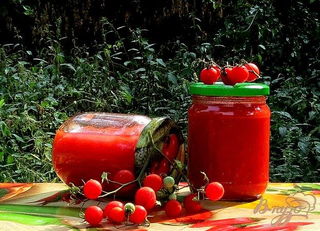 фото рецепта: Соус томатный на зиму