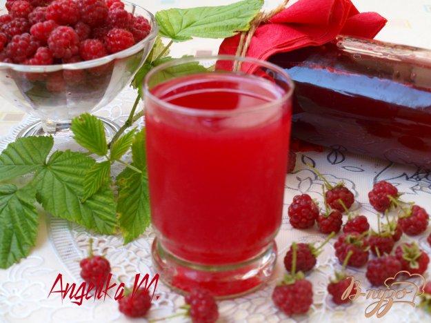 фото рецепта: Сок из малины на зиму