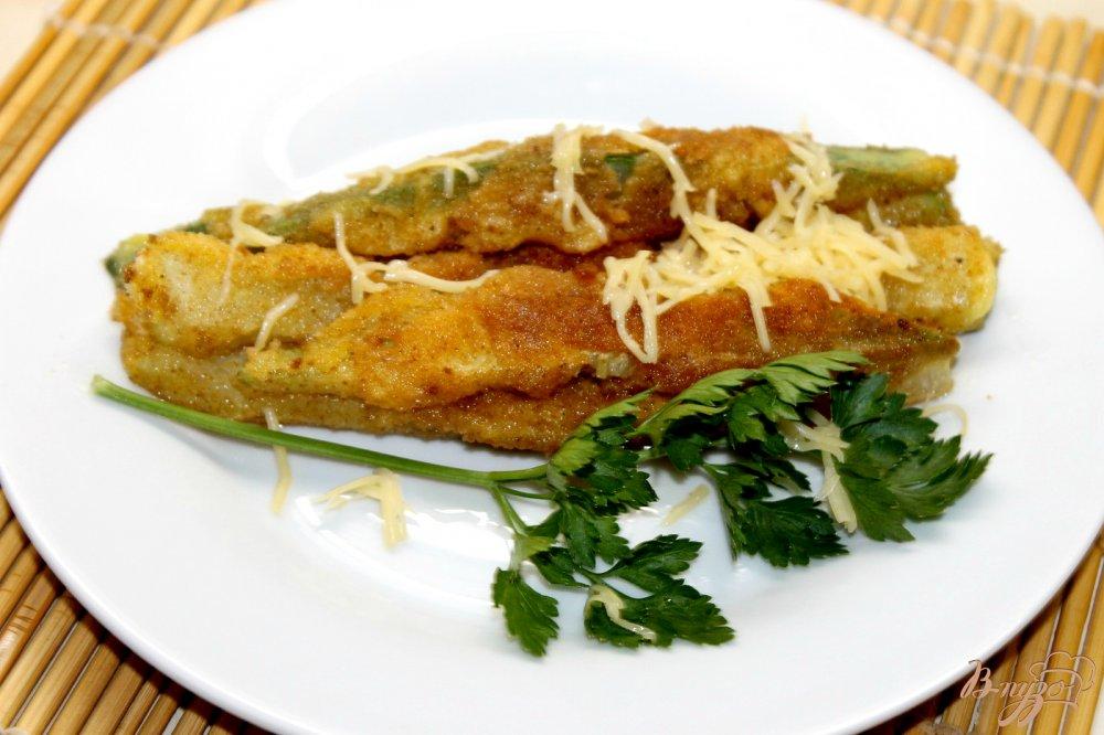 Кабачки в сырном кляре рецепт с фото