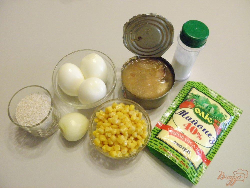 салат с консервой рецепт с фото