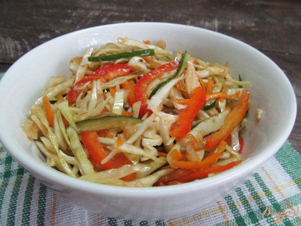 салат капуста по корейски пошаговый рецепт