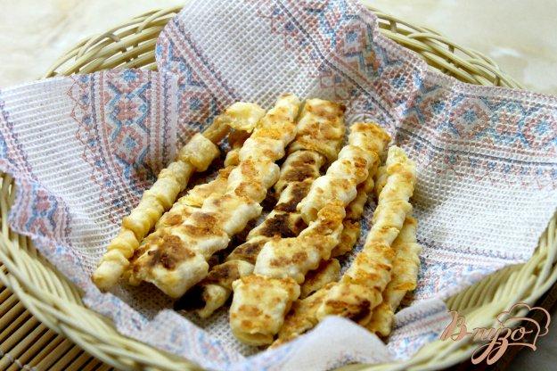 фото рецепта: Палочки из сырного теста