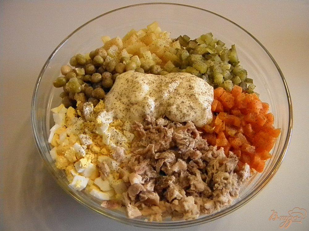 Салат с курицей с фото