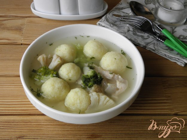 фото рецепта: Суп с шариками из картофеля