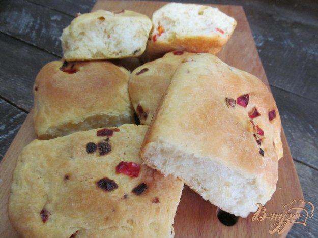 фото рецепта: Булочки с болгарским красным перцем