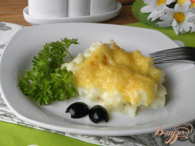 фото рецепта: Цветная капуста запеченная под сырным соусом