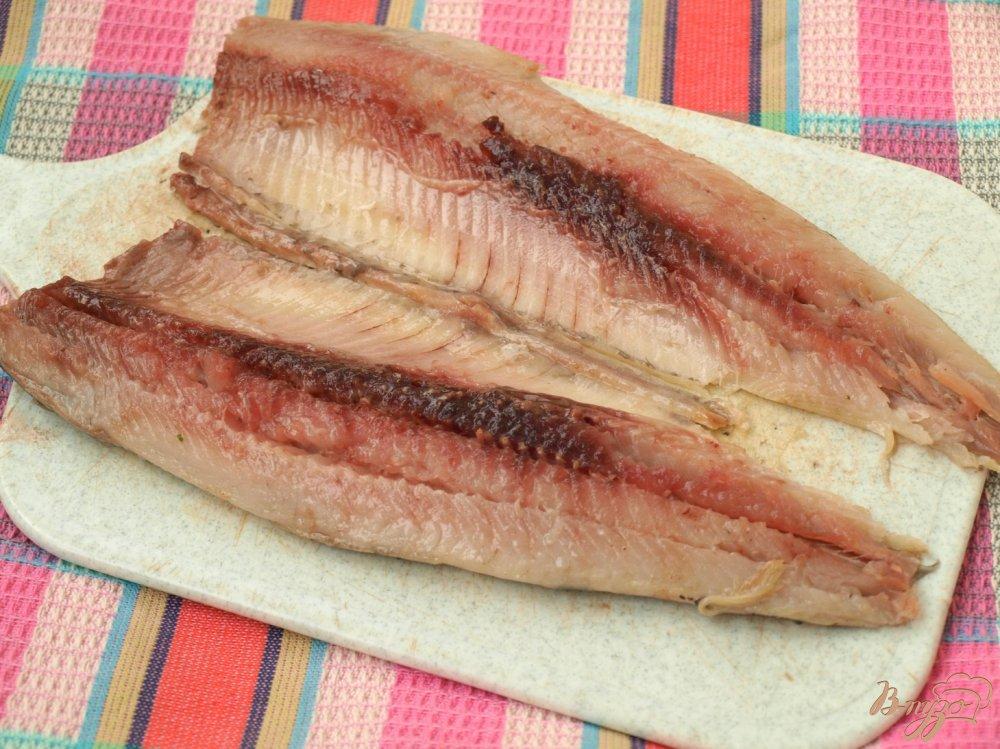 Фото приготовление рецепта: Сельдь в горчичном соусе шаг №2