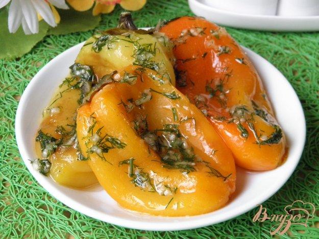 фото рецепта: Болгарский перец запеченный в духовке