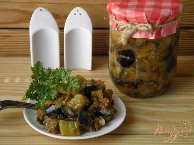 фото рецепта: Консервированные баклажаны
