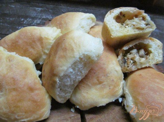фото рецепта: Пирожки с капустой и грибами