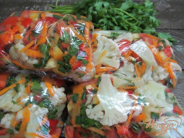 фото рецепта: Заморозка супа с цветной капустой на зиму