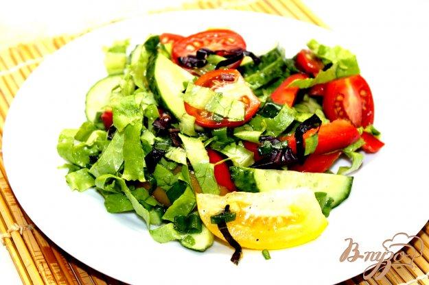 фото рецепта: Овощной фитнес салат