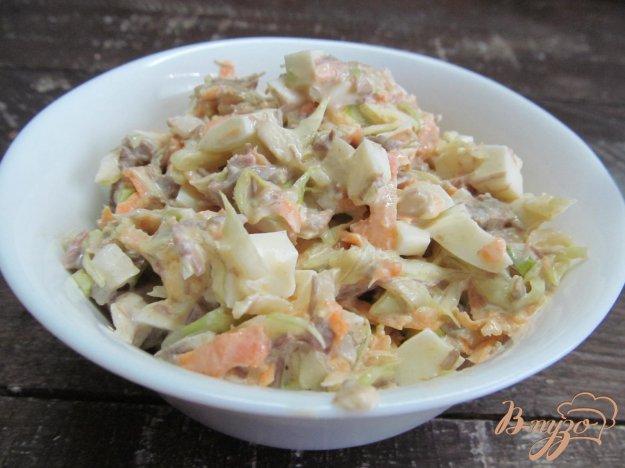 фото рецепта: Капустный салат с мясом