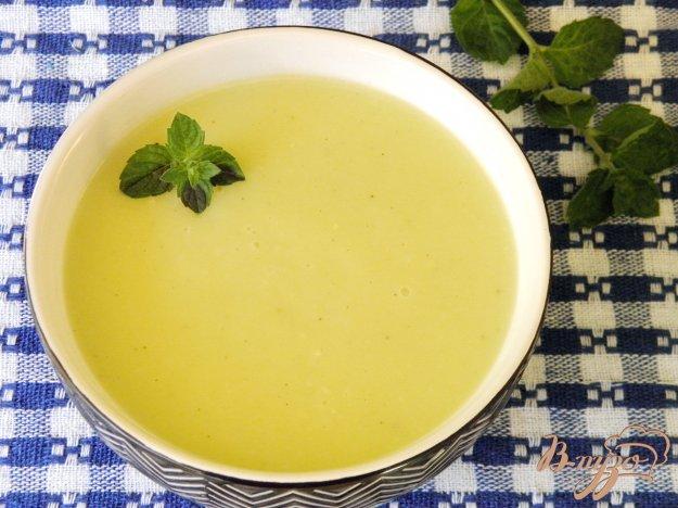 фото рецепта: Нежный кабачковый суп-пюре