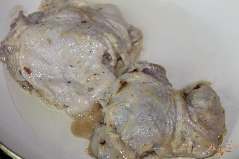 Бедрышки с чесноком в духовке рецепт пошагово в