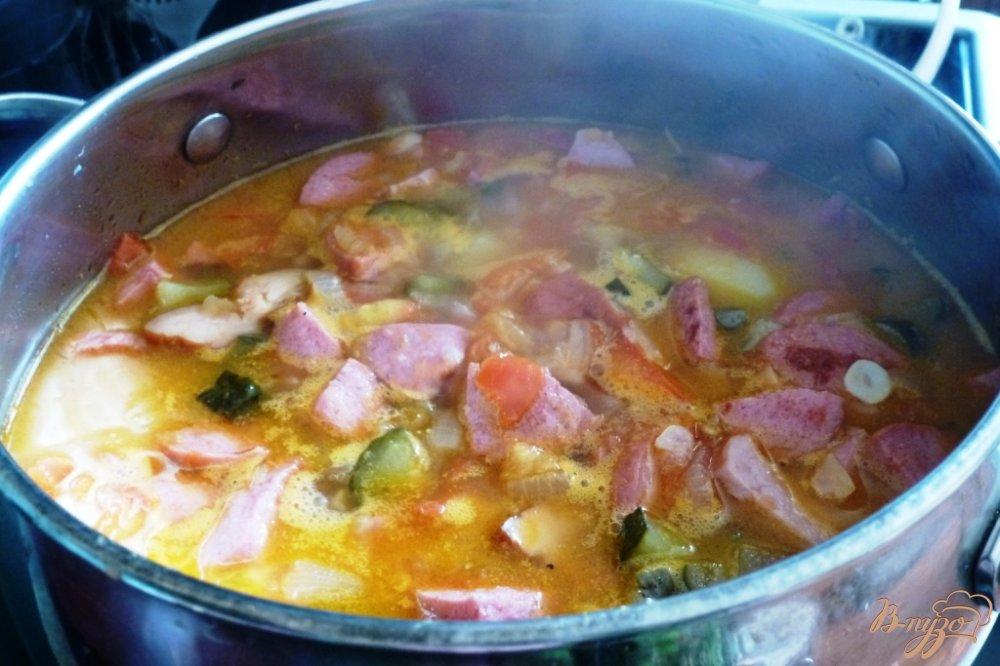 Рецепт солянки классической с картошкой с пошагово в