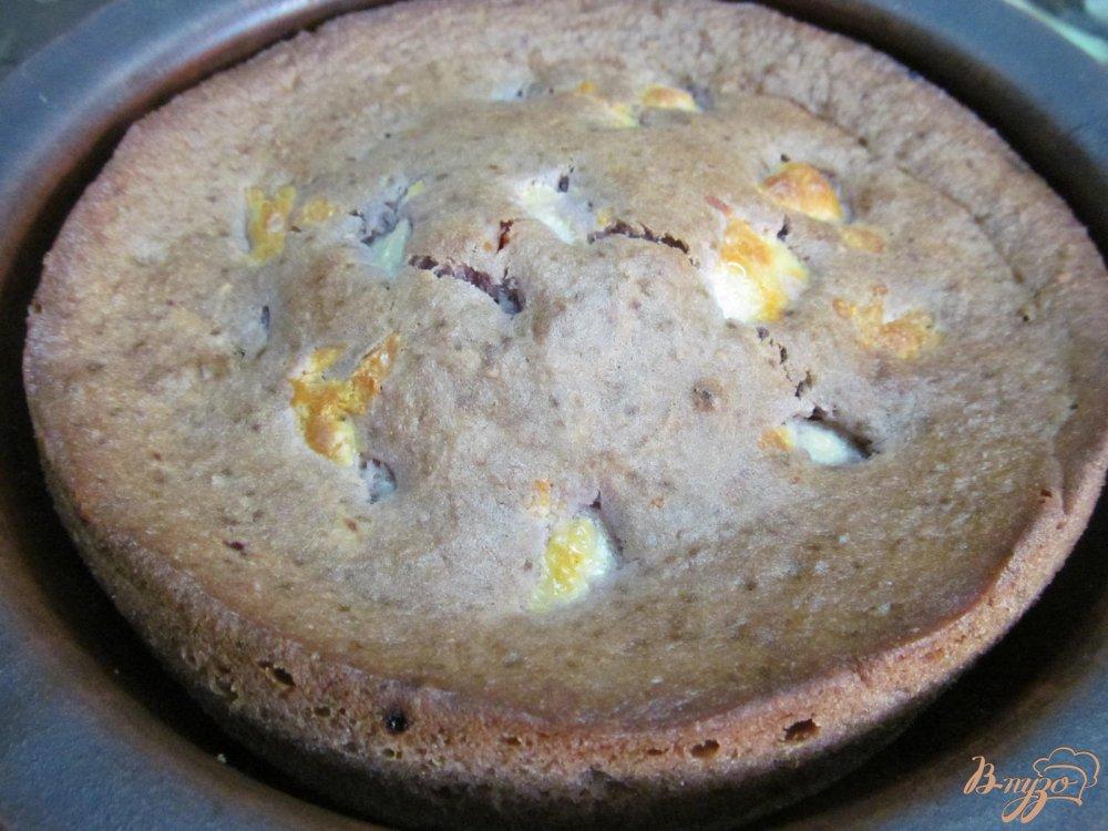 Пирог без яиц со сметаной