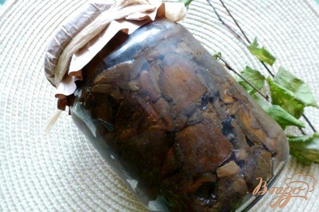фото рецепта: Жаренные моховики для длительного хранения