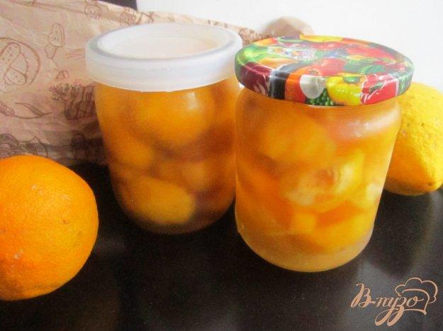 фото рецепта: Персики консервированные  половинками