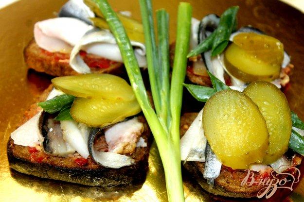 фото рецепта: Пикантная закуска для мужчин
