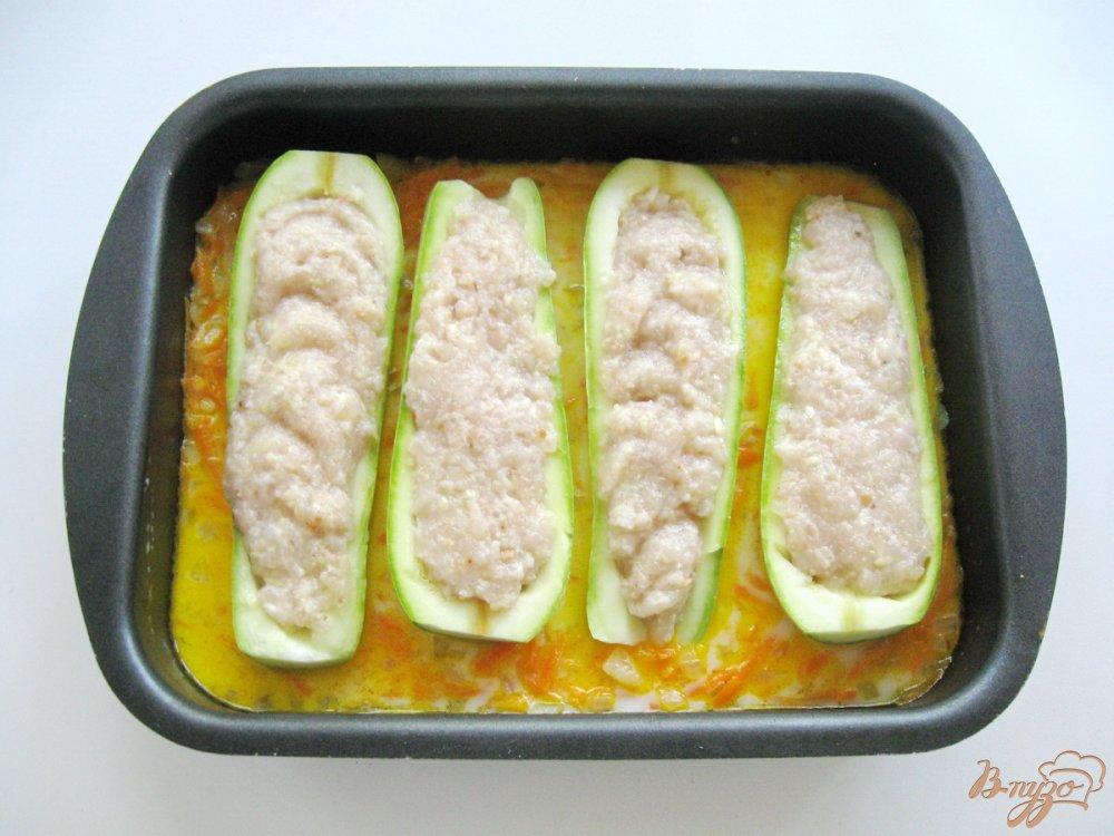 Кабачки фаршированные лодочки рецепт пошагово