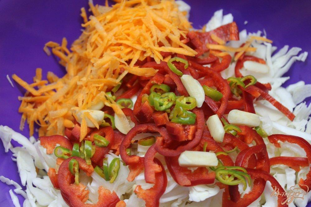 Рецепт вкусной капусты с болгарским перцем быстрого приготовления