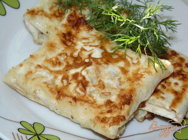 фото рецепта: Сырные конвертики