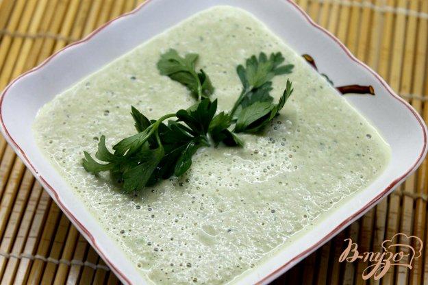 фото рецепта: Суп пюре из шампиньонов и кабачка