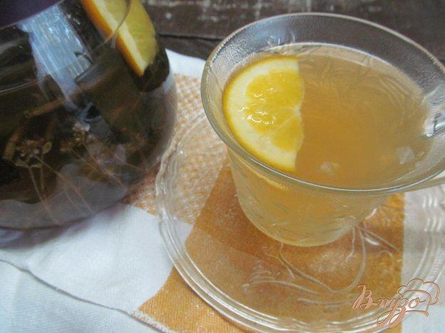 фото рецепта: Чай из мяты с цитрусовыми