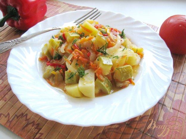 фото рецепта: Овощное рагу в рукаве