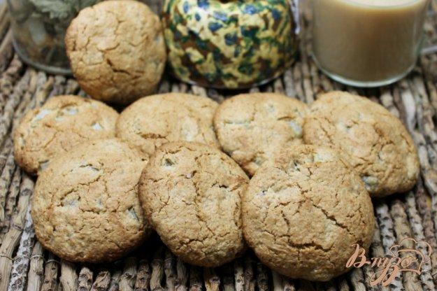 фото рецепта: Овсяное печенье с грушей