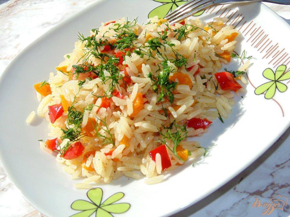 Рис с морковкой рецепт фото