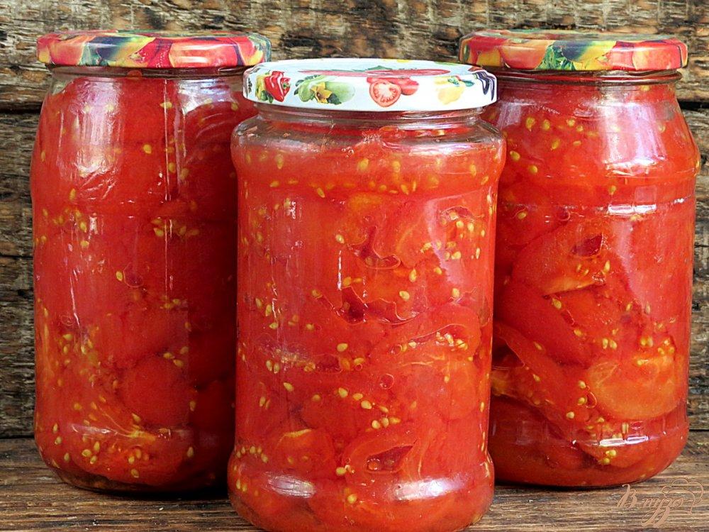 Вкусные консервированные помидоры рецепт с фото