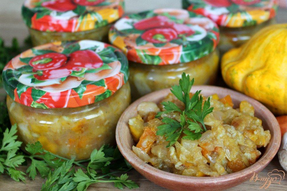 Кабачки с чесноком на зиму рецепты с фото пошагово