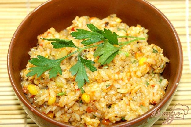 фото рецепта: Плов с овощами и томатным соком