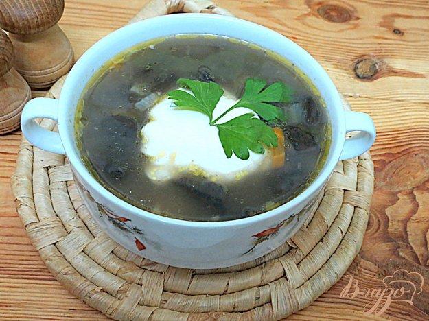 фото рецепта: Похлёбка с лесными грибами