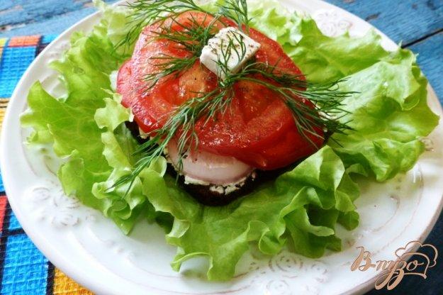 фото рецепта: Бутерброд с Фетой и овощами