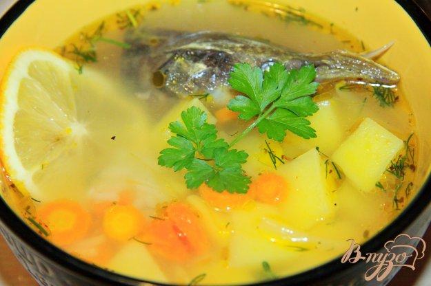 фото рецепта: Рыбный суп из голов стерляди
