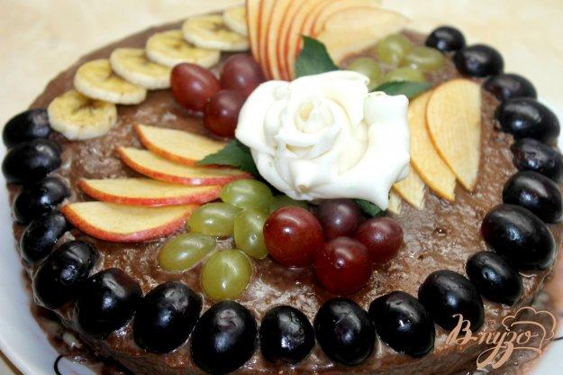 Сметанник с фруктами рецепт с фото