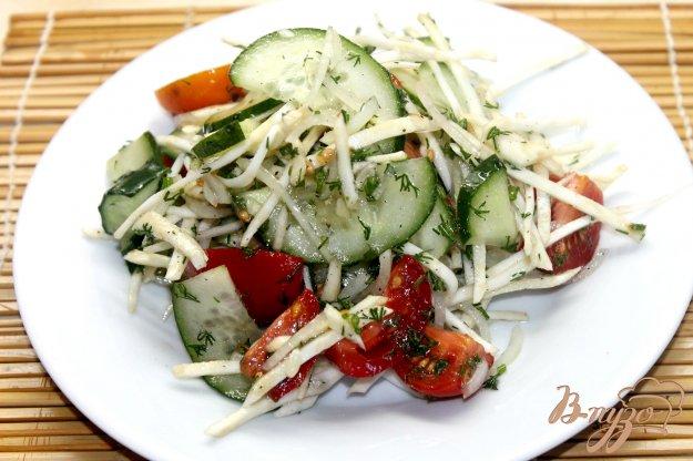 диетический салат с сельдереем рецепт