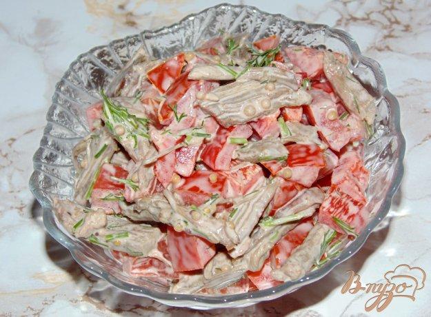 Салат из говядины рецепт пошагово с