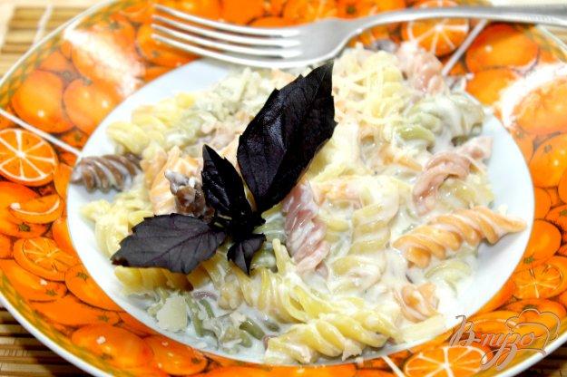 фото рецепта: Сливочная паста с сыром