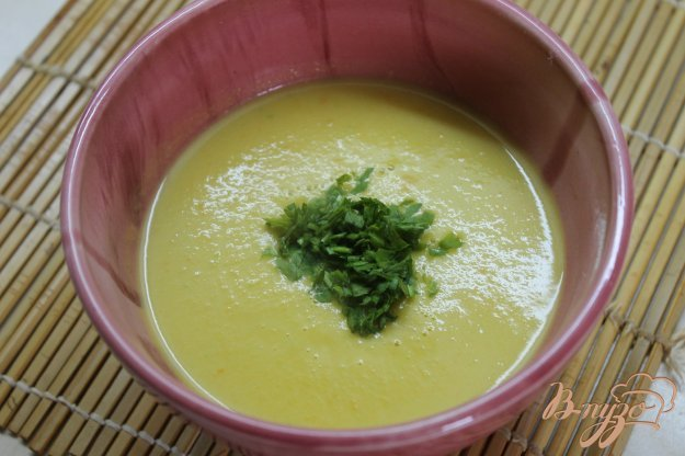 фото рецепта: Суп пюре из тыквы и цуккини